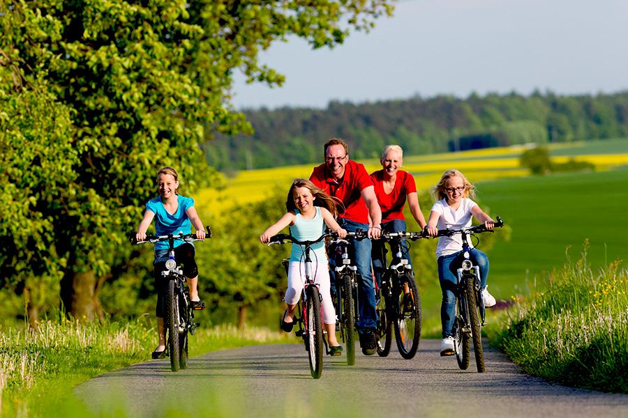 Famiglia in Bici | Link Tours Bike